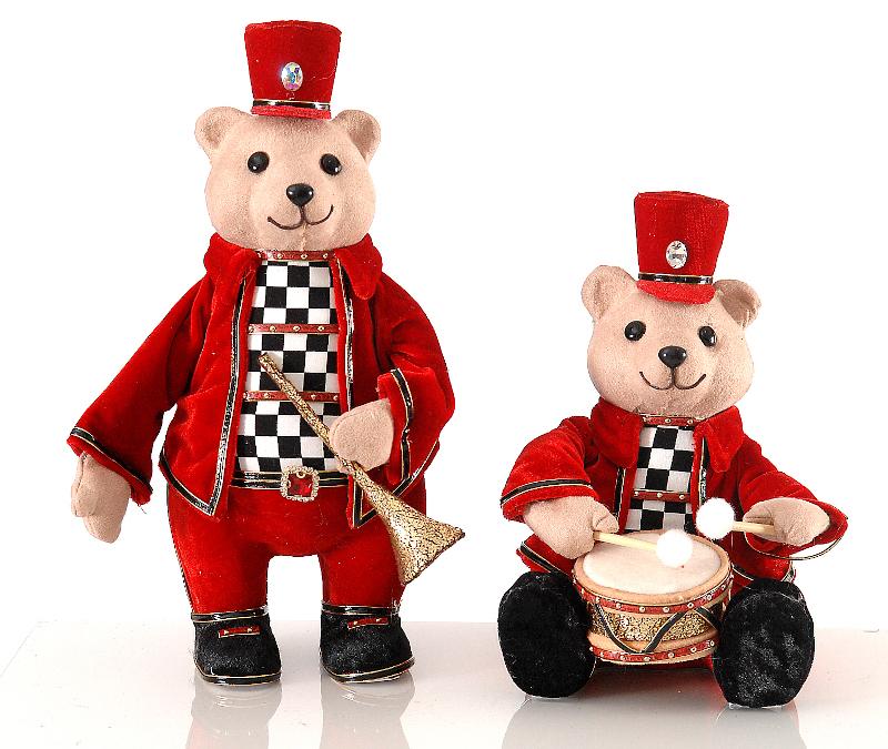 Αρκουδάκι με μουσικό όργανο