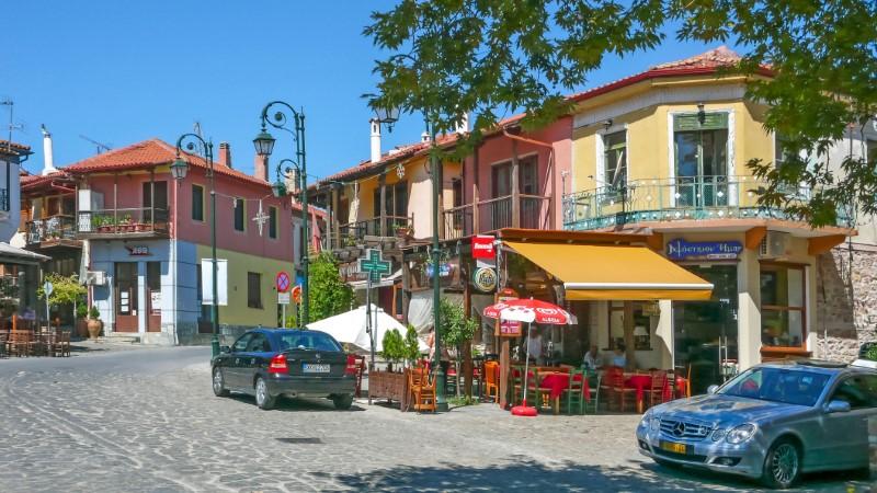 Το γραφικό χωριό Αρναία της Χαλκιδικής
