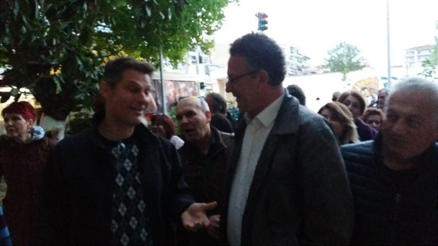 Ο Κώστας Αρβανίτης χαρακτηρίζει τους πολίτες που τον αποδοκιμάζουν νεοναζί