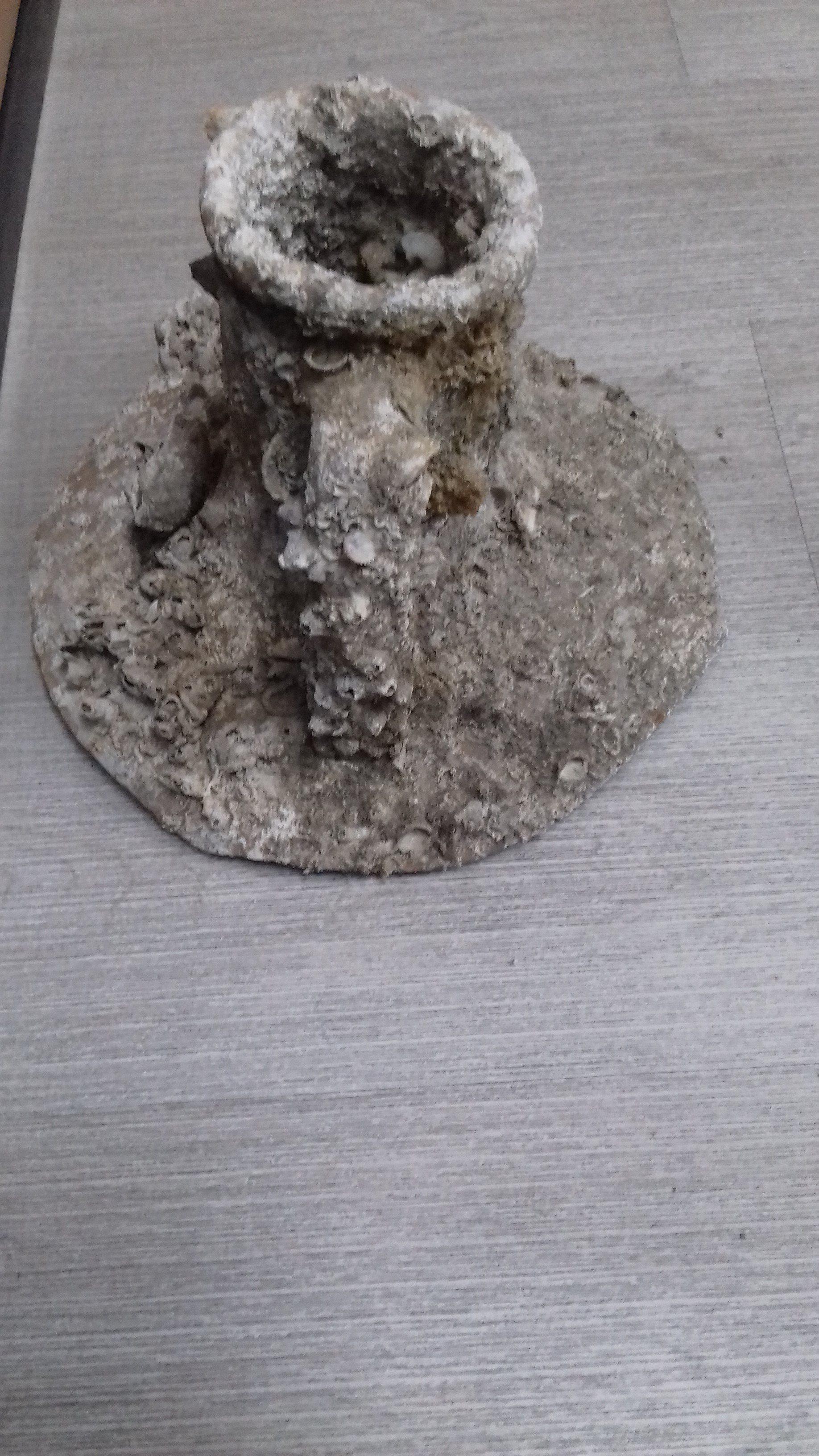 Ένα από τα αρχαία αντικείμενα που βρέθηκαν