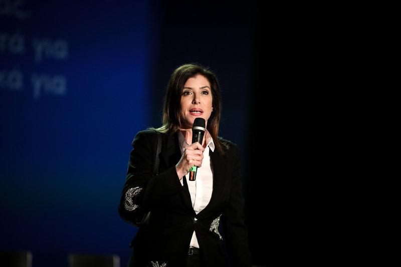 Η Αννα Μισέλ-Ασημακοπούλου -Φωτογραφία: EUROKINISSI/ΣΤΕΛΙΟΣ ΜΙΣΙΝΑΣ