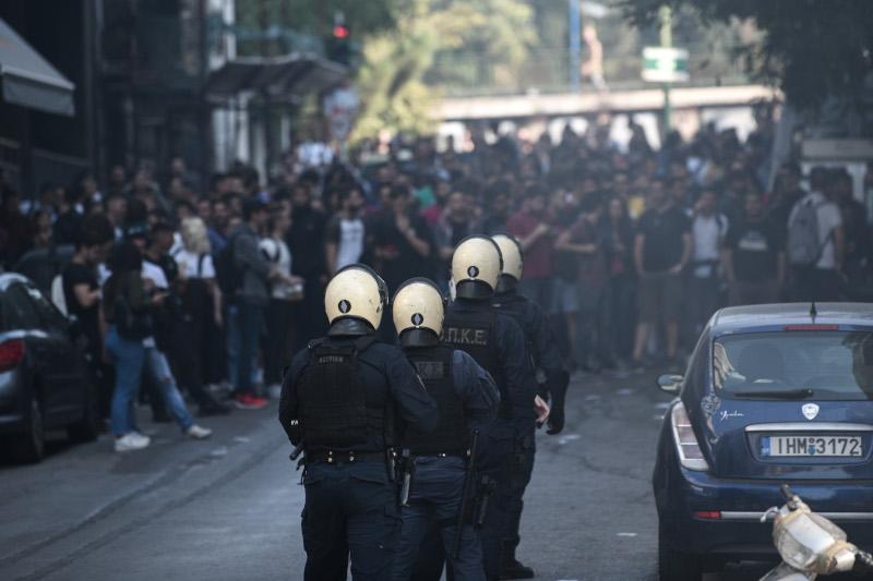 Στο σημείο έσπευσαν αστυνομικές δυνάμεις