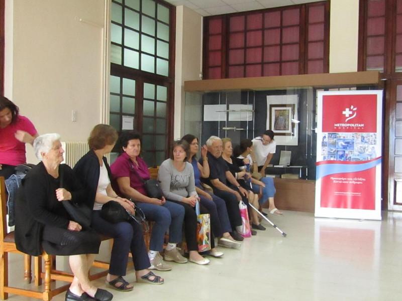 Μεγάλη ήταν η προσέλευση των κατοίκων της περιοχής στο πρόγραμμα «Πρόληψη»