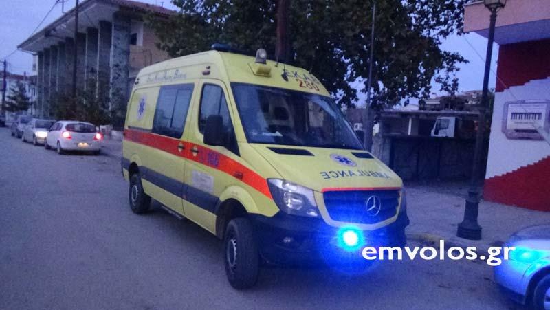 Η γυναίκα μεταφέρθηκε στο νοσοκομείο για προληπτικούς λόγους