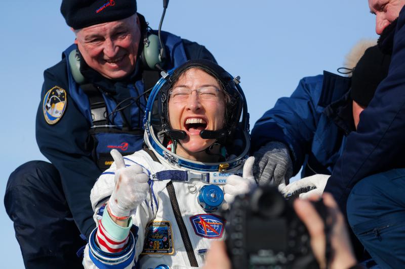 Η αστροναύτης Κριστίνα Κοχ
