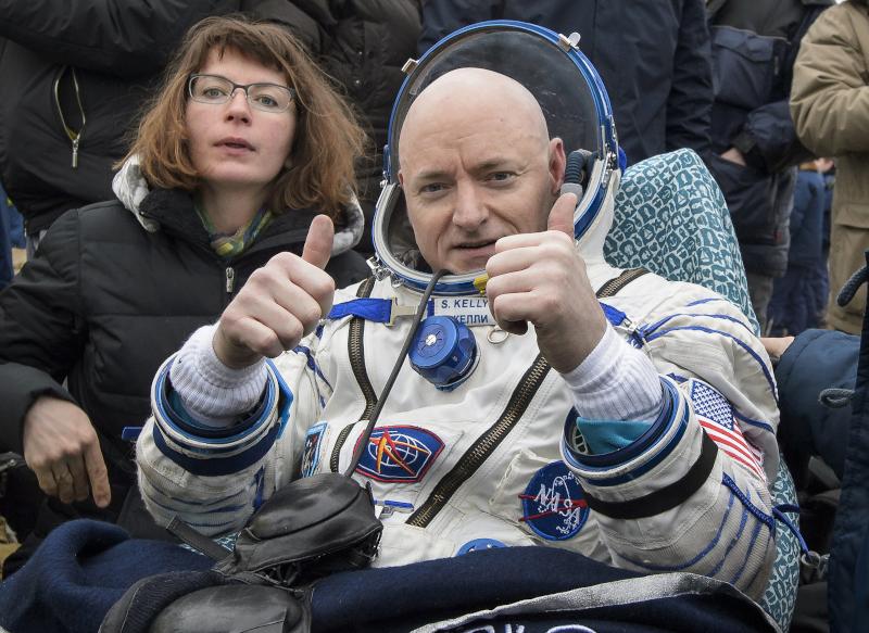 Ο αστροναύτης Σκοτ Κέλυ