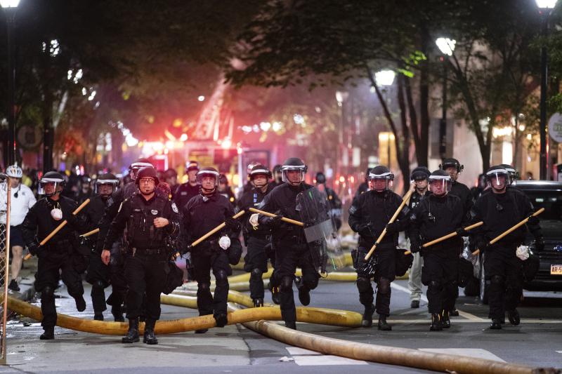 Ισχυρές αστυνομικές δυνάμεις στη Μινεάπολη