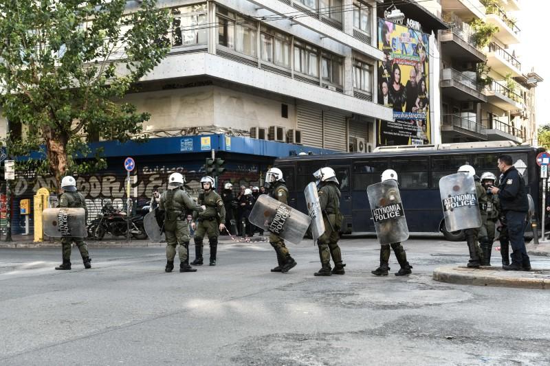 Ισχυρές αστυνομικές δυνάμεις