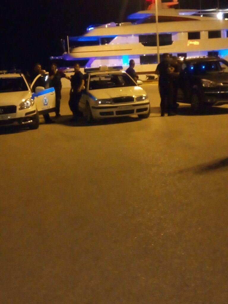 Αστυνομικοί στο σημείο