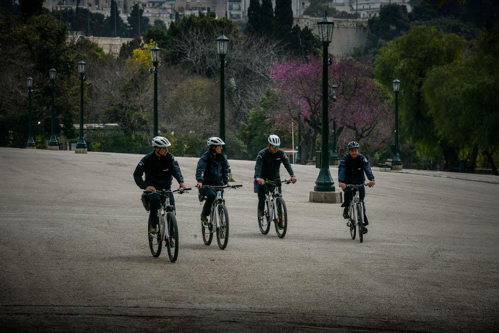 Αστυνομικοί σε ποδήλατα