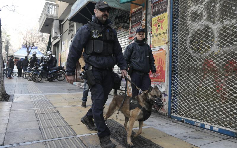 Περιπολία με την συνοδεία αστυνομικού σκύλου