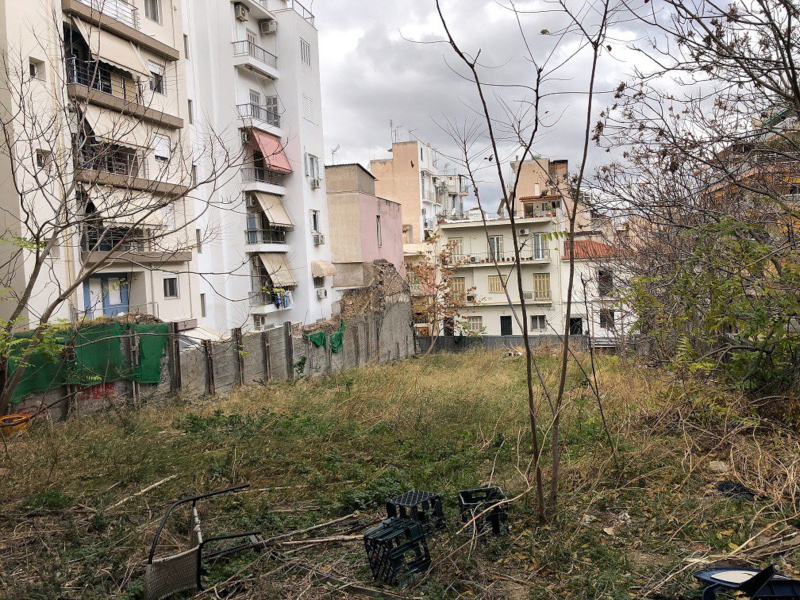 Αθήνα τρίτο Pocket Park Παγκράτι