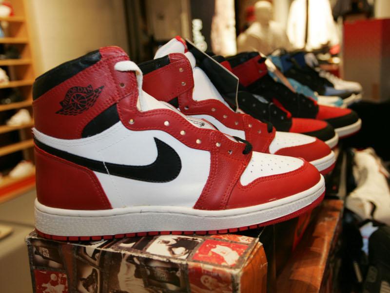 Τα παπούτσια του Μάικλ Τζόρνταν