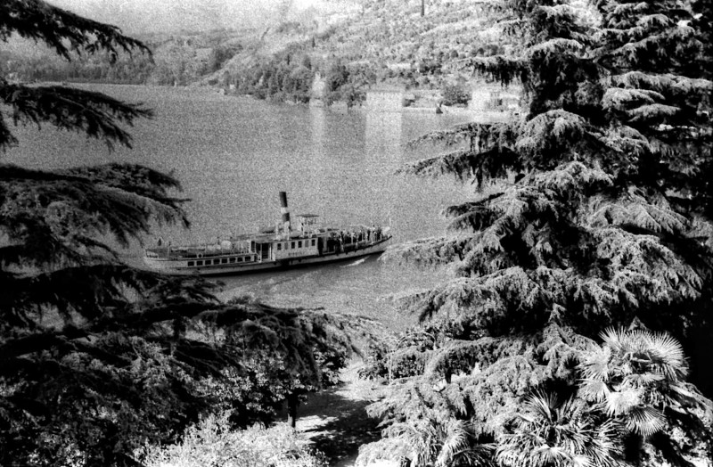 Ο Φάγκαν υπέθεσε ότι αυτό το ατμόπλοιο μπορεί να ήταν στην λίμνη Λουγκάνο, αλλά παρόμοια υπήρχαν εκείνη την εποχή και στην λίμνη Κόμο της Ιταλίας