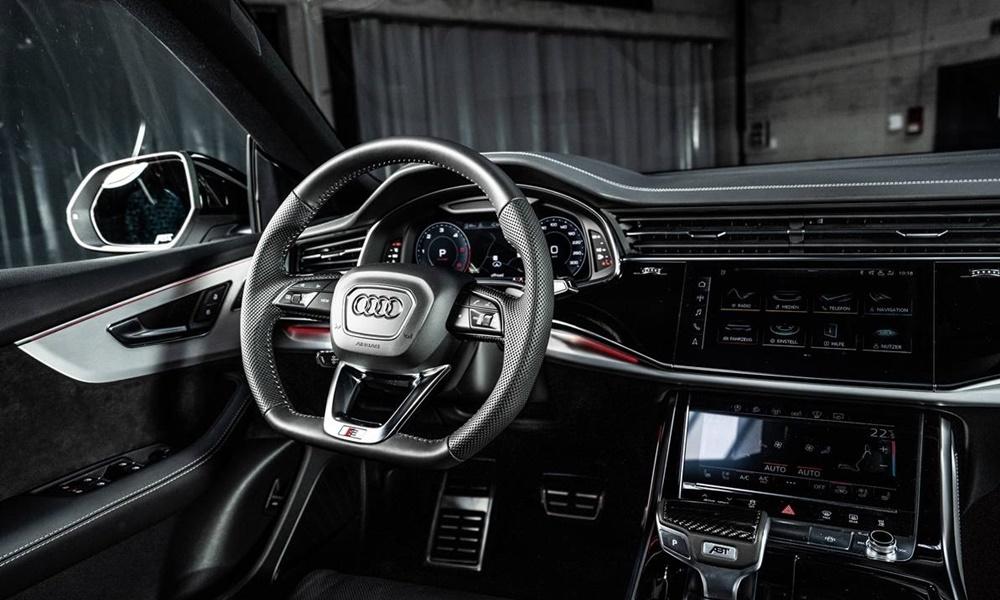 Αφωνο αφήνει τον οδηγό το νέο κόκπιν του Audi Q8 μετά την περιποίηση από την ABT