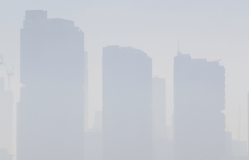 Κτίρια στο Σίδνεϊ «πνίγονται» από το πυκνό νέφος