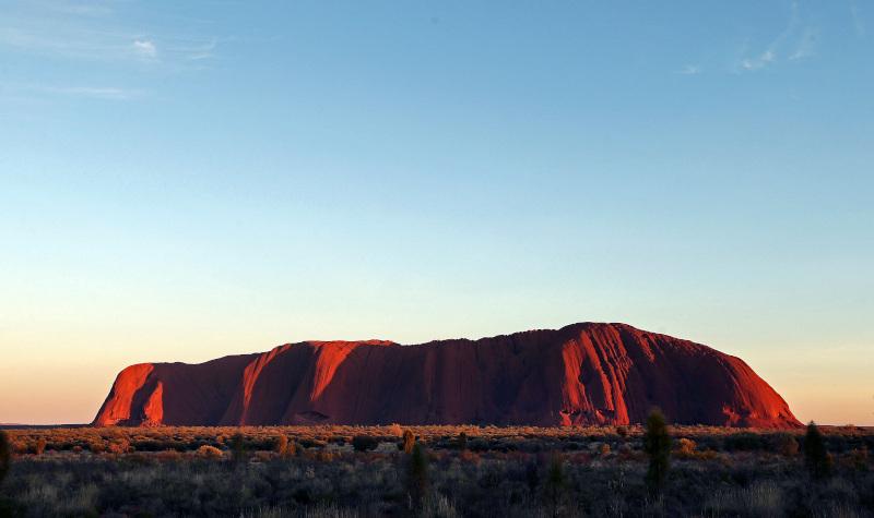 Το Ουλούρου είναι ένα από τα πιο δημοφιλή αξιοθέατα στην Αυστραλία