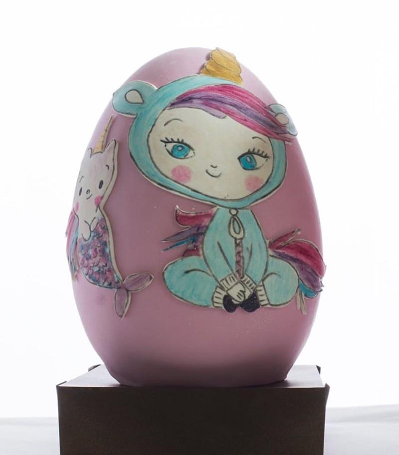 Πασχαλινό αυγό με μονόκερω