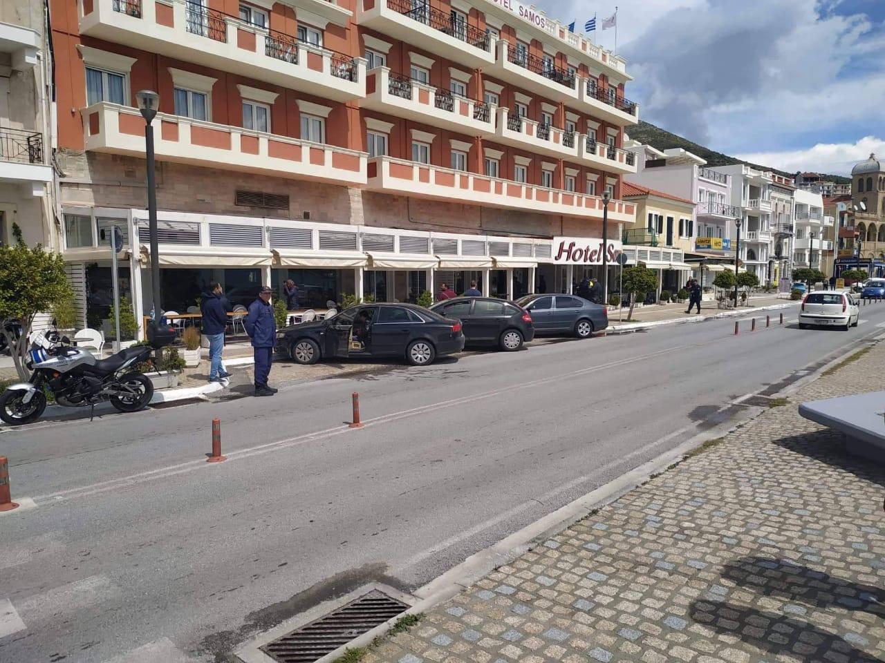 Το ξενοδοχείο στη Σάμο όπου μένει ο Δημήτρης Βίτσας