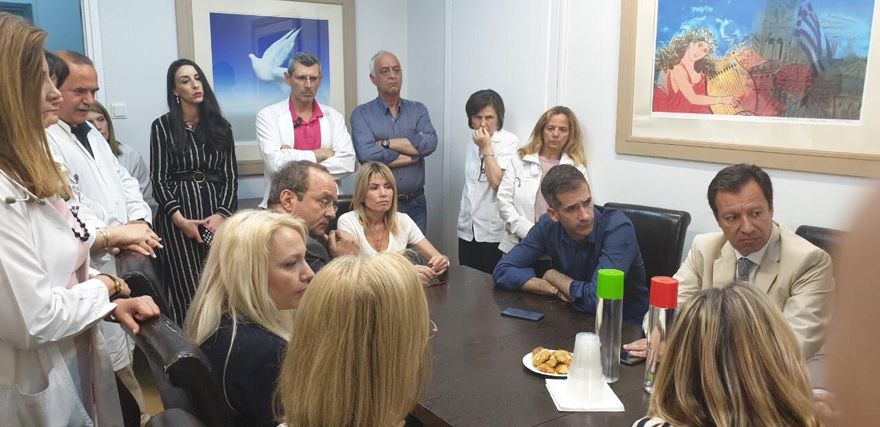 «Είναι υποχρέωση του Δήμου να σταθεί δίπλα στο 'Ελπίς'» δήλωσε ο Κώστας Μπακογιάννης