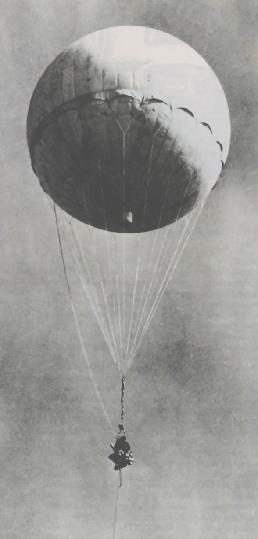 Ένα από τα φονικά αερόστατα-βόμβες των Ιαπώνων που κατέρριψαν οι Αμερικανοί στην Καλιφόρνια