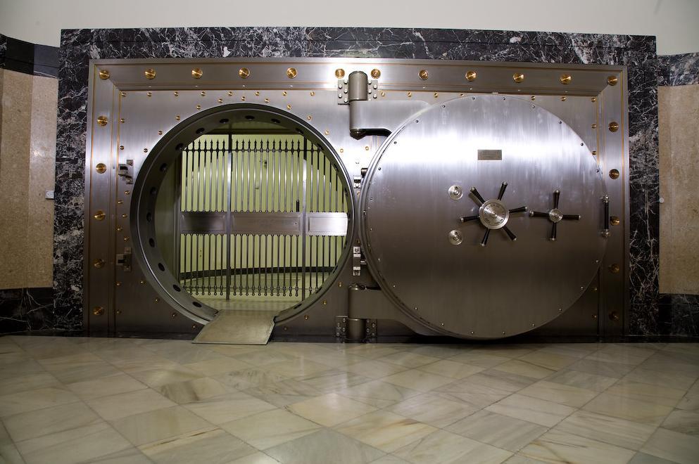 Το θησαυροφυλάκιο της Τράπεζας της Ισπανίας
