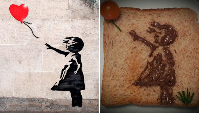 «Το κορίτσι με το μπαλόνι» του Μπάνκσι που κοσμεί τους τοίχους από το 2002