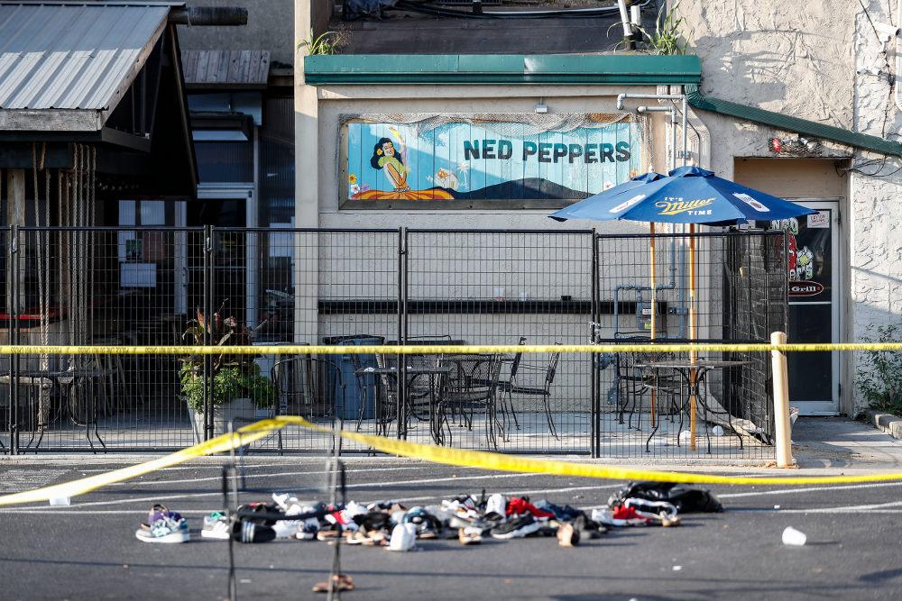 Παπούτσια θυμάτων της επίθεσης στο Ντέιτον