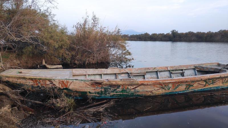 Βάρκα στον Εβρο
