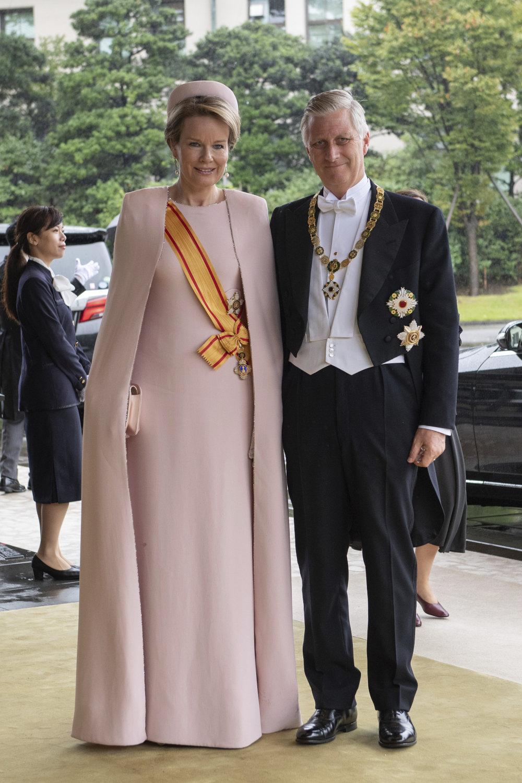 Ο Βασιλιάς του Βελγίου Φίλιππος με την Βασίλισσα Ματίλντε