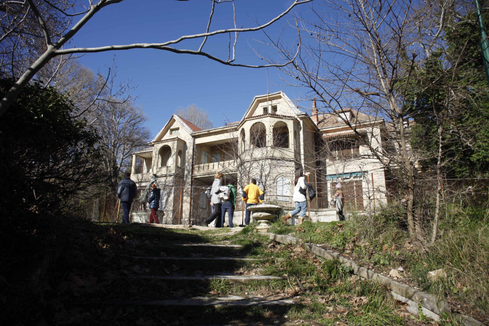 Το βασιλικό κτήμα στο Τατόι αξιοποιείται