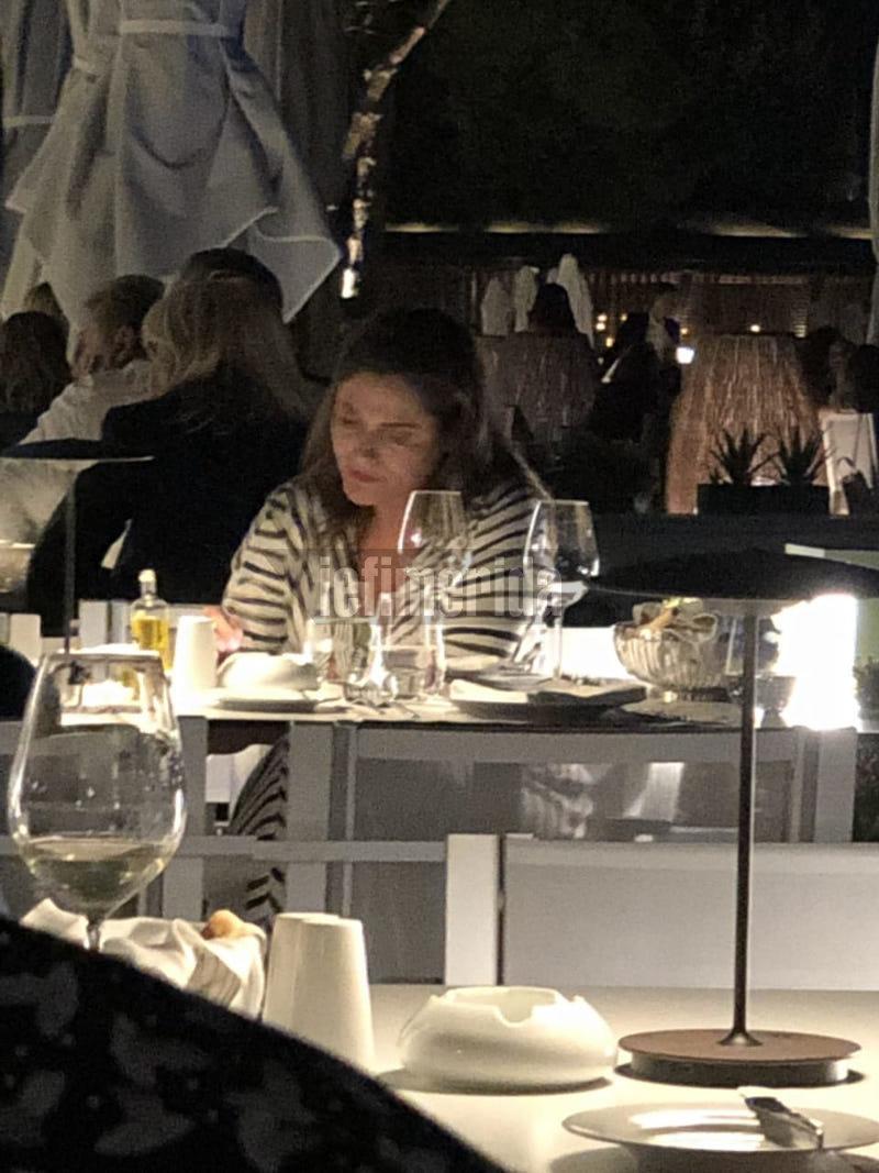 Η Περιστέρα Μπαζιάνα σε εστιατόριο