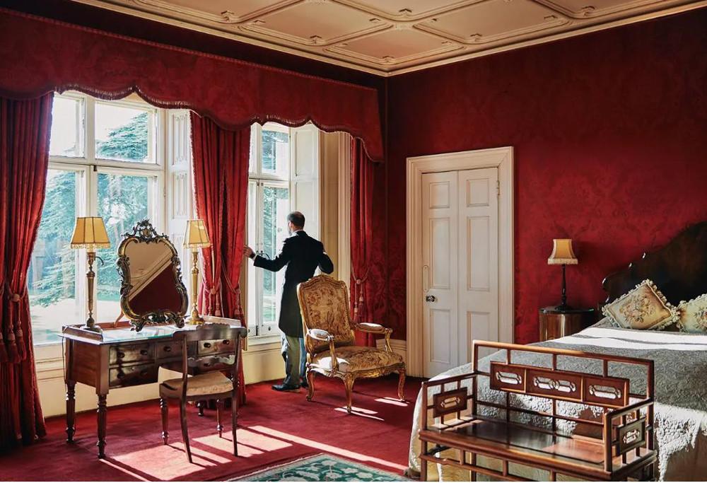 Κρεβατοκάμαρα του κάστρου Highclere από το Downton Abbey