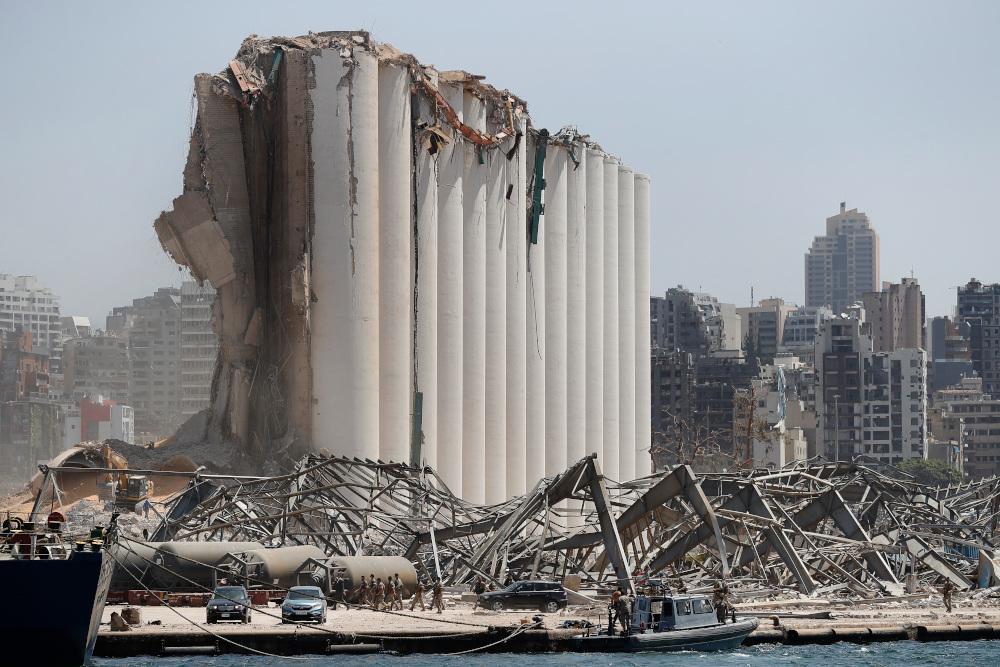 Η φονική έκρηξη που σημειώθηκε την Τρίτη στο λιμάνι της Βηρυτού, οδήγησε στο θάνατο 158 ανθρώπων