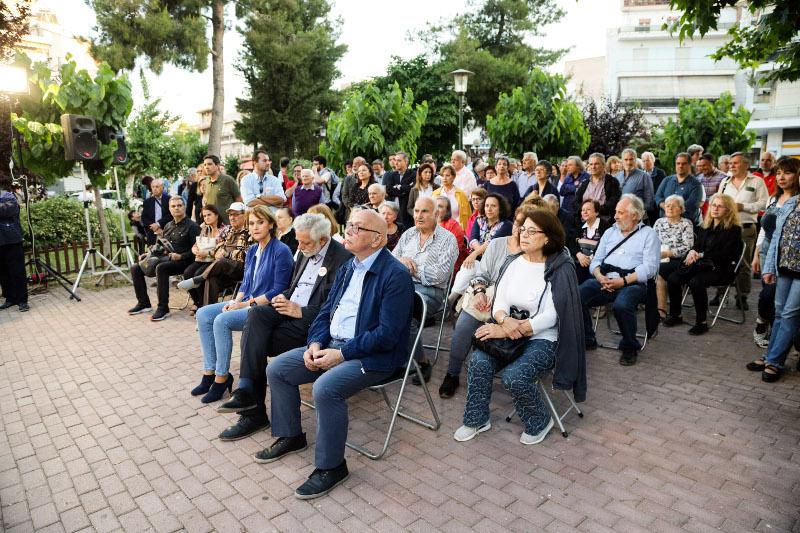 Λίγοι οι οπαδοί του ΣΥΡΙΖΑ στην ομιλία του Νίκου Μπελαβίλα