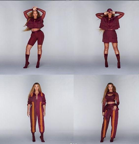 Η νέα κολεξιόν αθλητικών ρούχων της Μπιγιονσέ/Φωτογραφία: Instagram/Beyonce