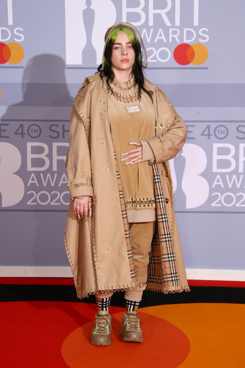 Η εμφάνιση της Billie Eilish στην τελετή απονομής των Brit Awards