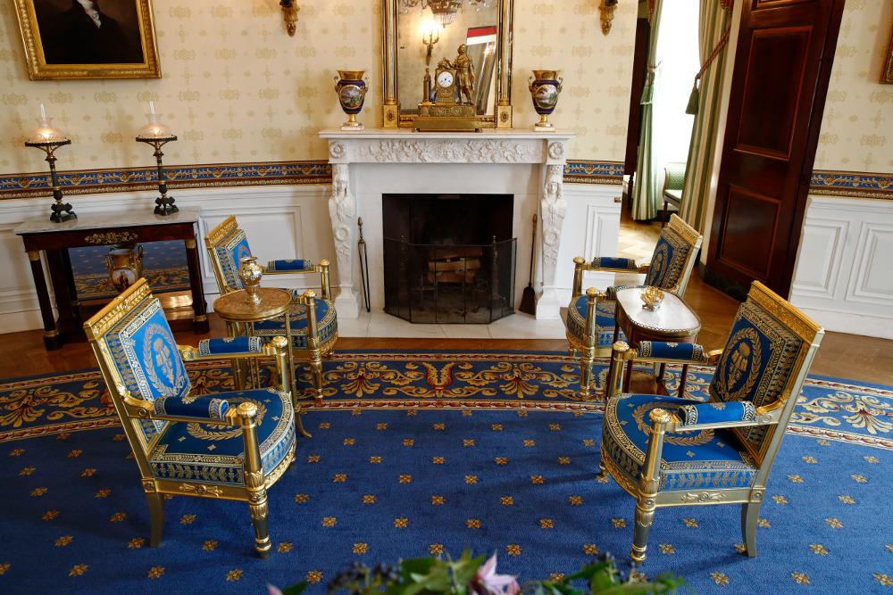 Το σαλόνι του Μπλε Δωματίου