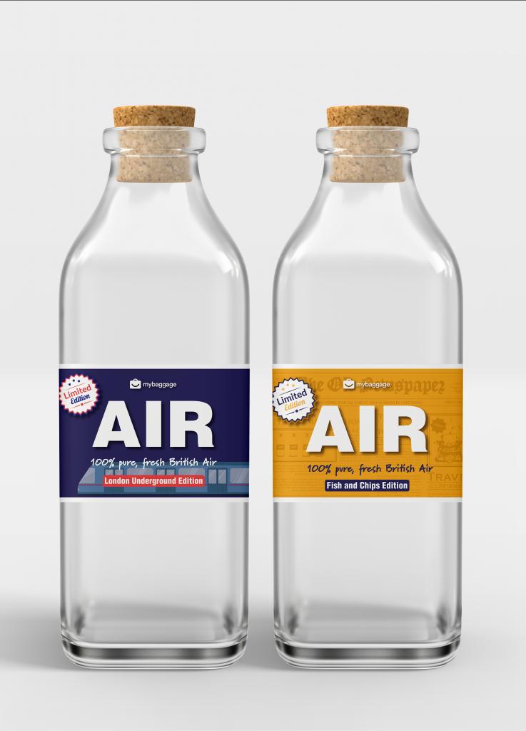 Μπουκαλάκια με «αέρα κοπανιστό» για τις γιορτές -Το θεότρελο δώρο βρετανικής εταιρείας στα χρόνια του κορωνοϊού