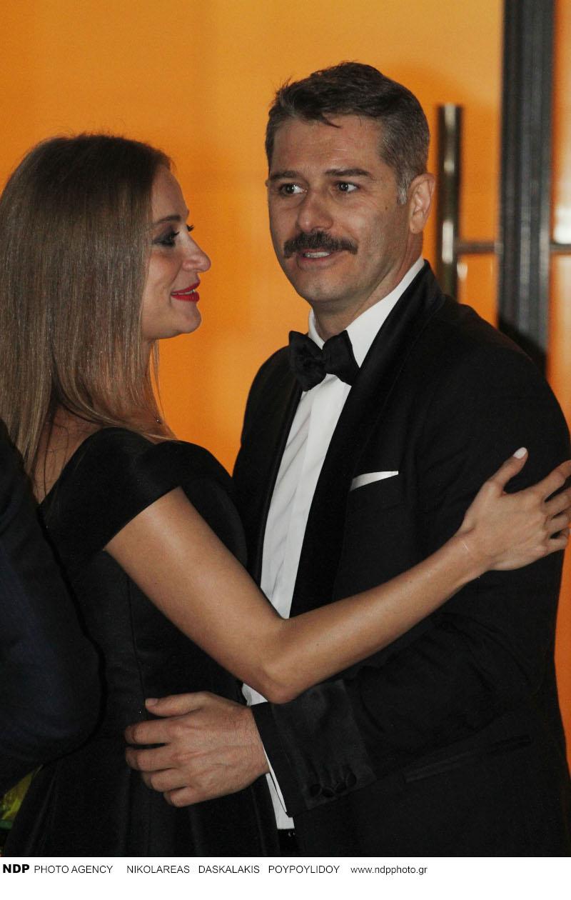 Το ζευγάρι εμφανίστηκε στην πρεμιέρα της ταινίας «Ενήλικοι στην Αίθουσα» στο Μέγαρο Μουσικής Αθηνών και έδειχνε πολύ ερωτευμένο