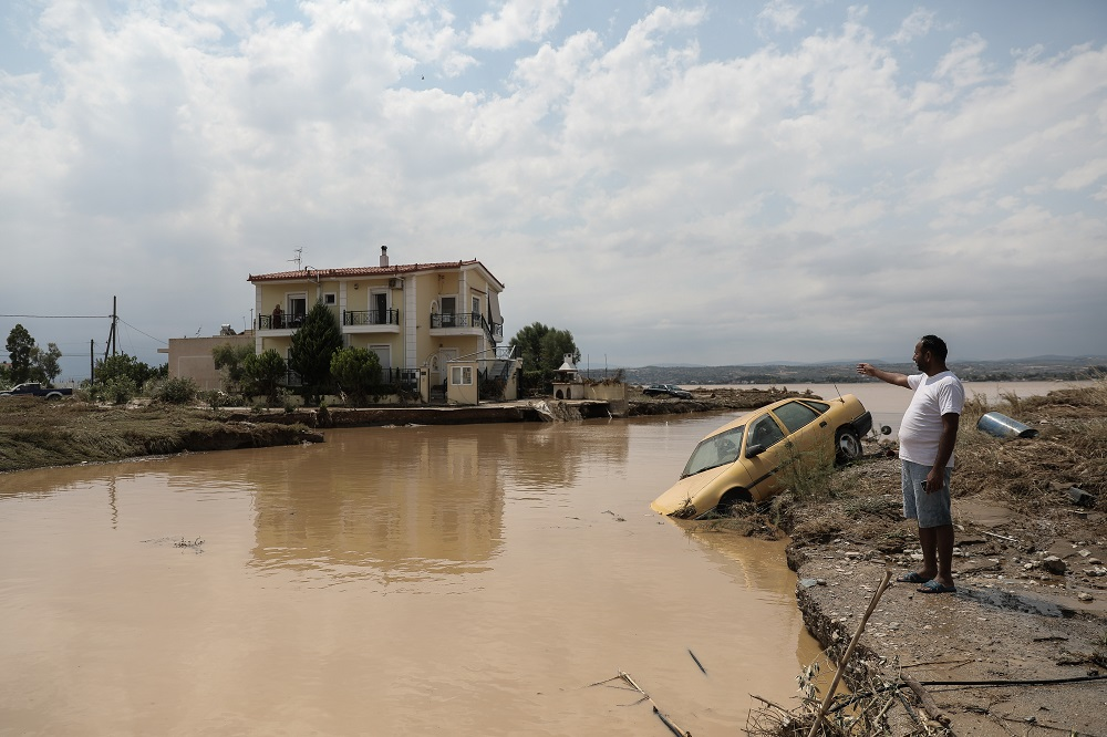 Πλημμύρες στο Μπούρτζι