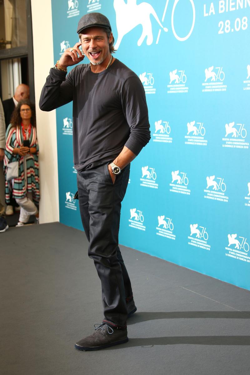 Ο Μπραντ Πιτ στο φεστιβάλ κινηματογράφου της Βενετίας