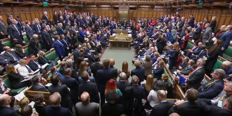 Το βρετανικό κοινοβούλιο υπερψήφισε την τροπολογία Λέτγουιν / Φωτογραφία: AP
