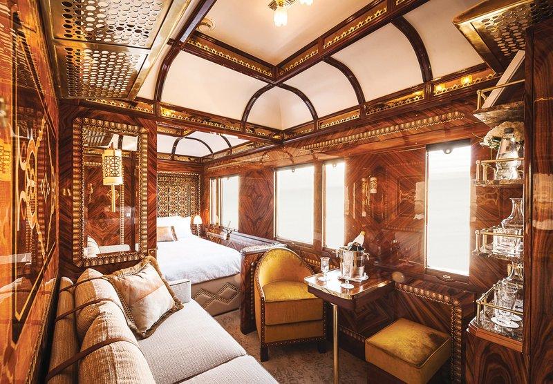 Πολυτελές δωμάτιο τρένου