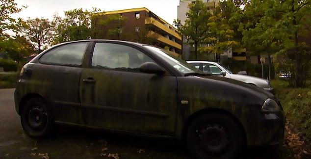 Το αυτοκίνητο του άτυχου αρτοποιού ήταν παρκαρισμένο επί 8 χρόνια στο πάρκινγκ με αποτέλεσμα να αρχίσει να πρασινίζει
