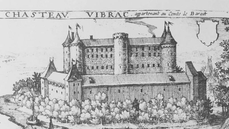 Το κάστρο Vibrac στην αρχική του δόξα