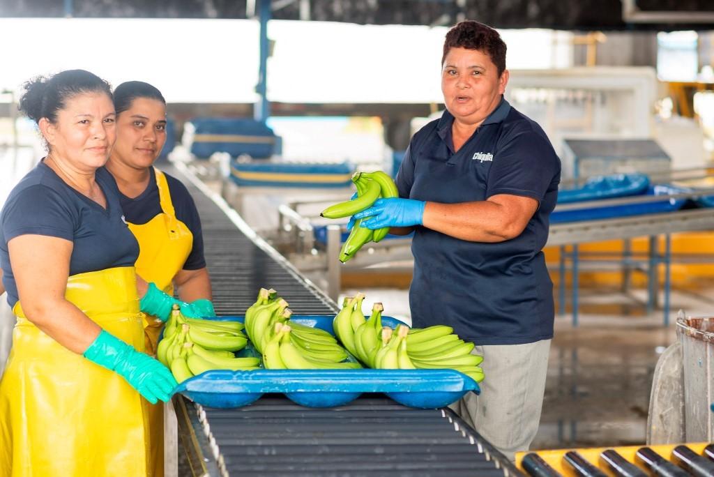 Εργαζόμενες στις μπανάνες