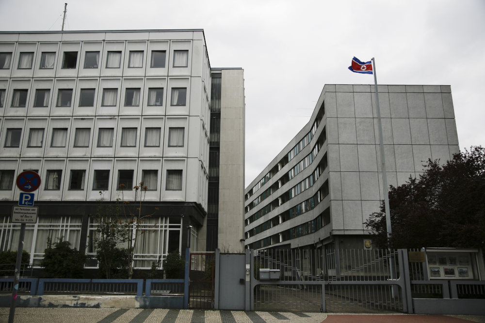 Το ξενοδοχείο στο Βερολίνο που υπήρξε πρεσβεία της Βόρειας Κορέας