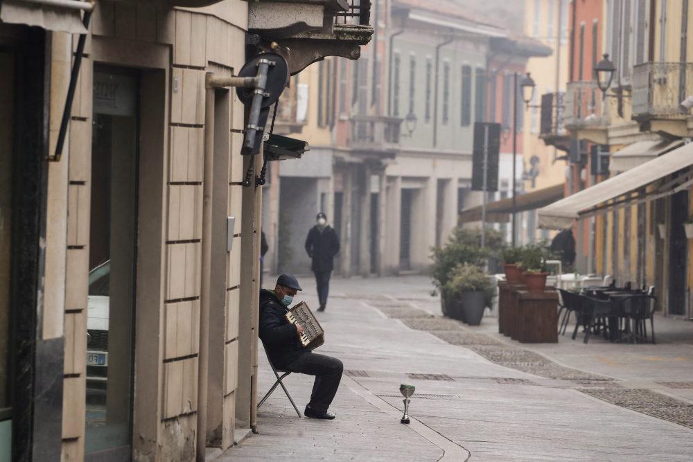 Tο χωριό Κοντόνιο στην Ιταλία όπου διαπστώθηκε το πρώτο εγχώριο κρούσμα κορωνοϊού