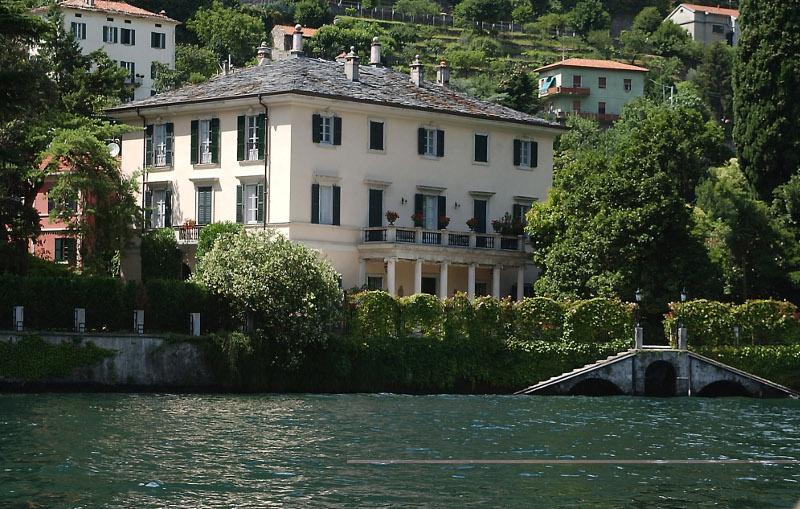 Η βίλα των Κλούνεϊ στην λίμνη Κόμο της Ιταλίας
